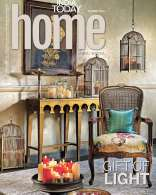 India Today Home October '16 : Our 'Art and Abode' show shoot featuring 'Maharaja I' by B. Mallya  on the cover of India Today Home.