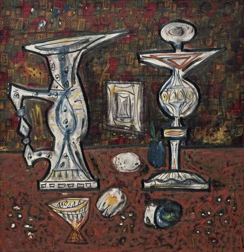 Still life with fruit - 1961