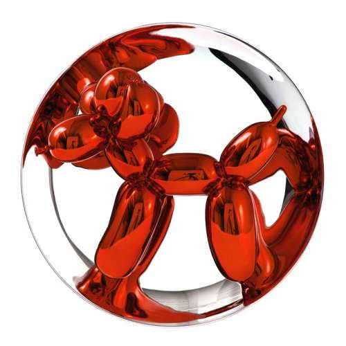 Balloon Dog Plate - Orange (2016) Edition of 2300